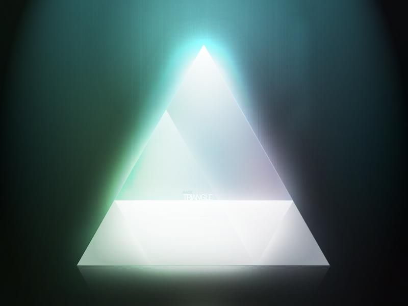 Light Triangle By Alejandrogonzalez Deviantart – Fondos de Pantalla