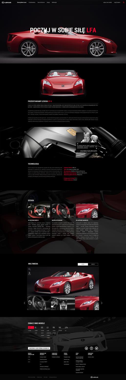 Lexus LFA by Lukezz