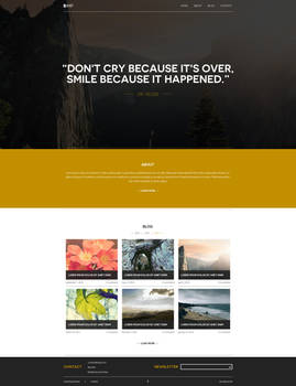 SIMP - simple blog design