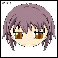 First Try Drawing Yuki Nagato by aces-of-the-sky