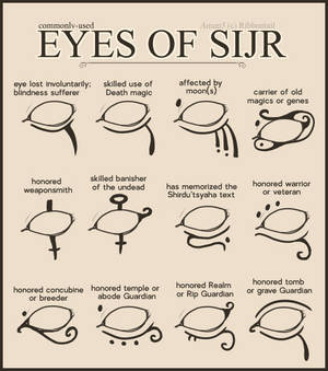 Reference- Eyes of Sijr