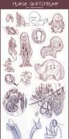 Sketch dump- huasa concepts