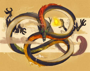 Comm- Rainbow Snake