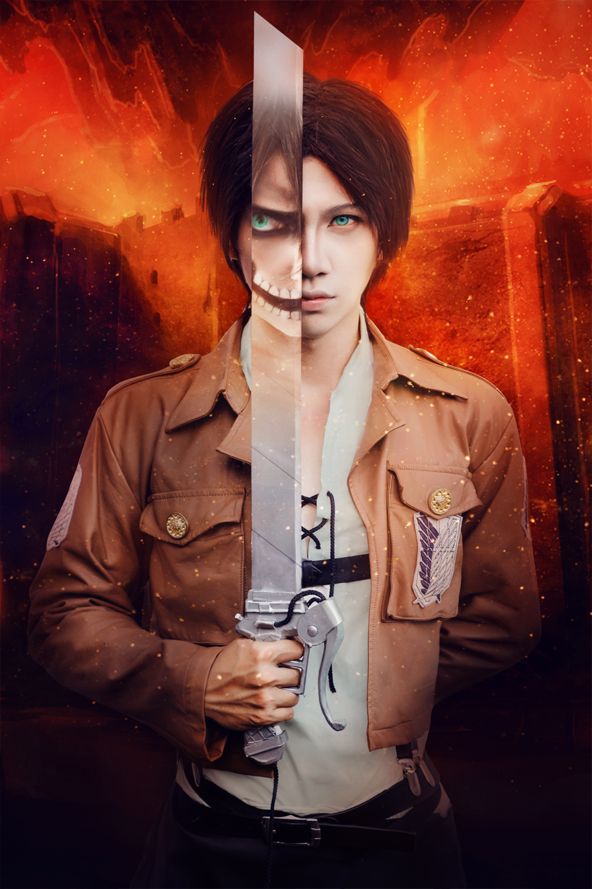 Eren Jeager by Crimson-Shad