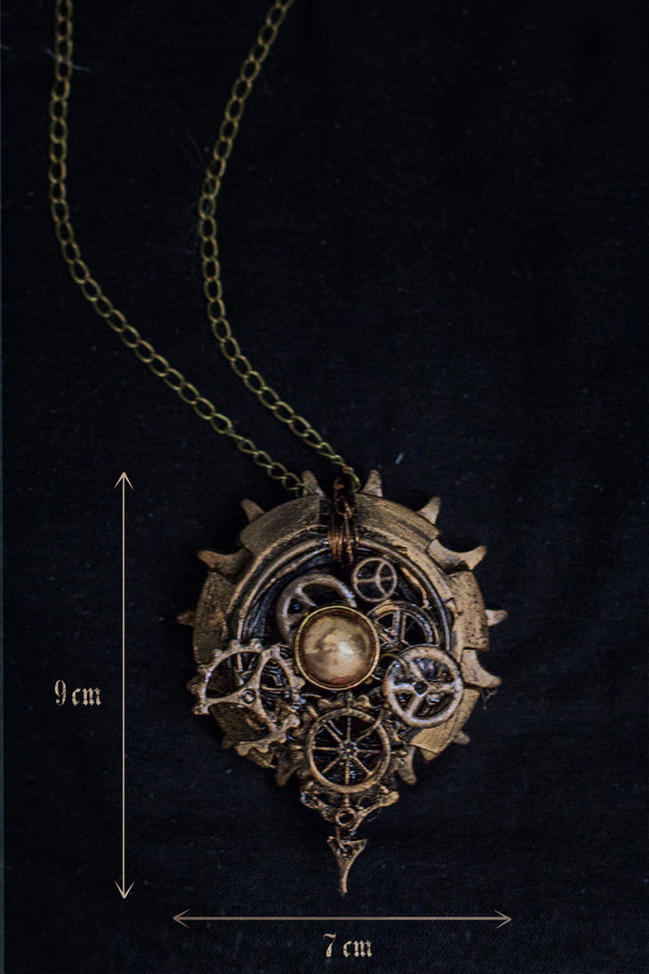 Steampunk necklace 1 by Crimson-Shad