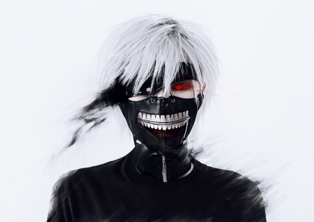 Tokyo Ghoul cosplay by Crimson-Shad