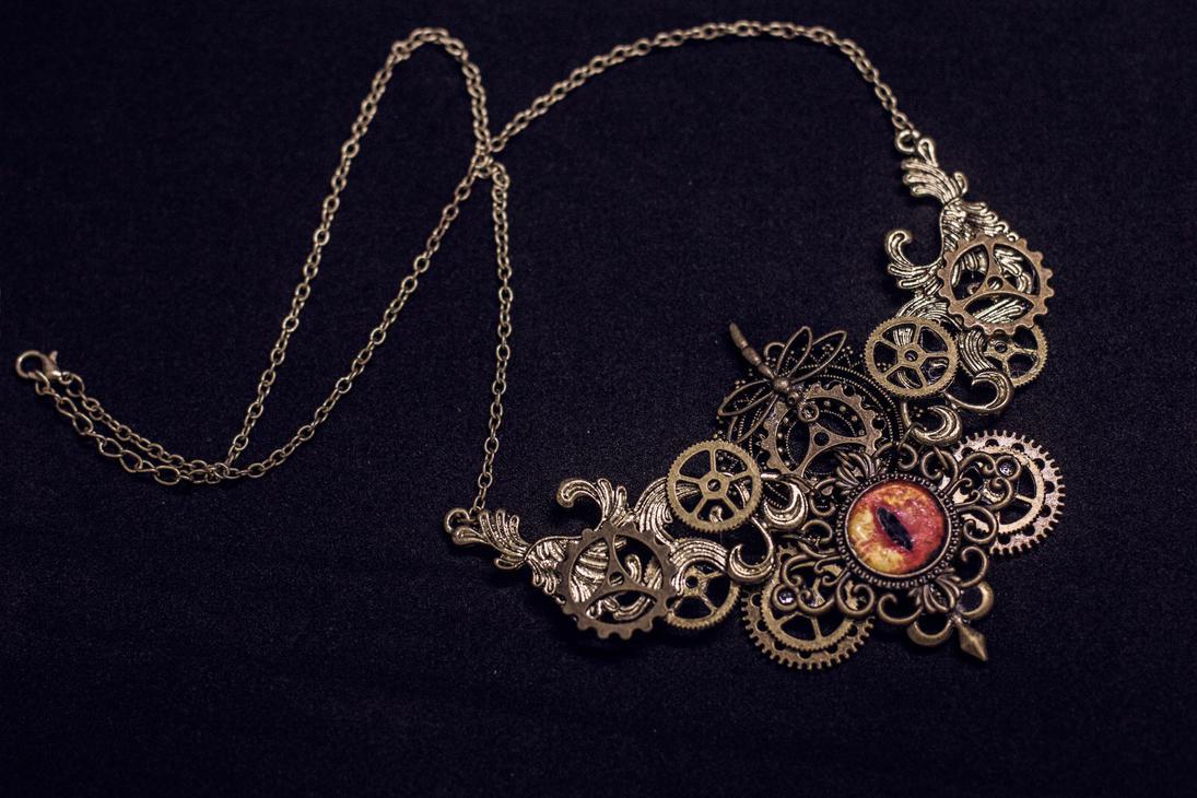 Steampunk Pendant by Crimson-Shad
