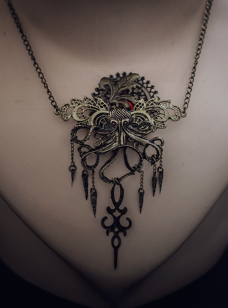 Octopus Pendant by Crimson-Shad