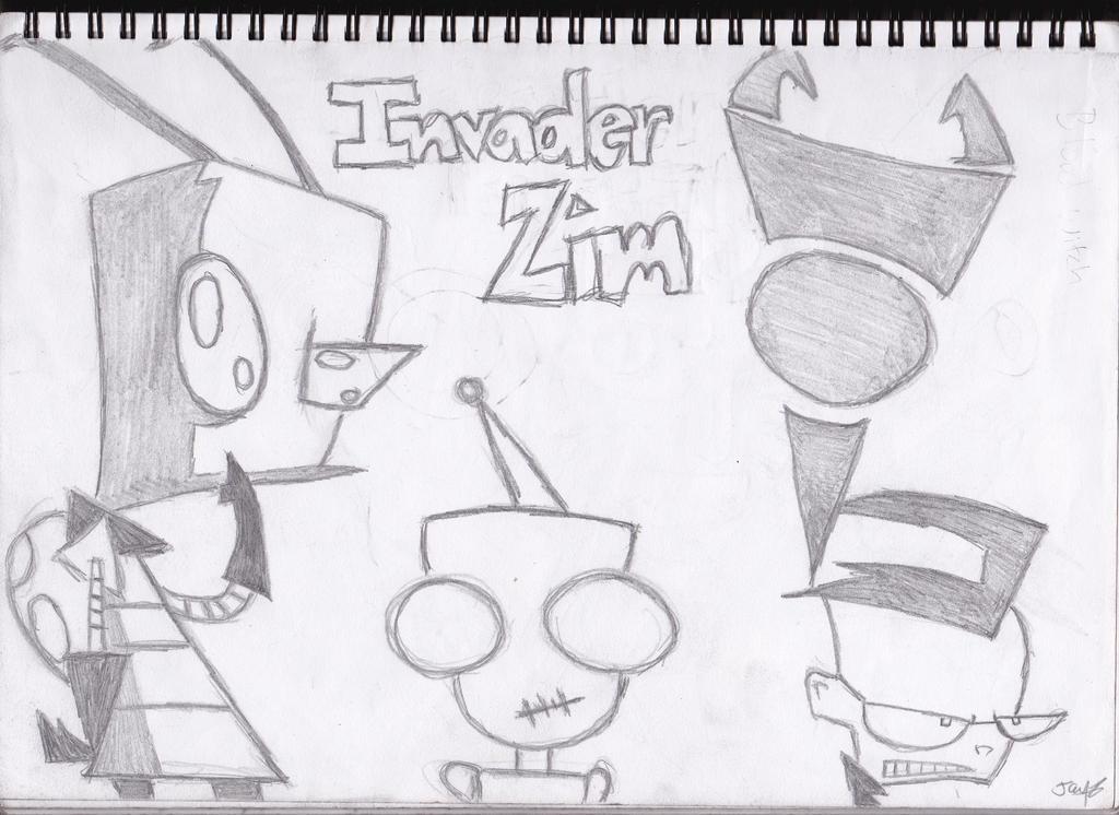 Invader Zim by jayjay-17