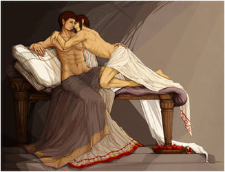 Hades and Persephone by KlaudiaK