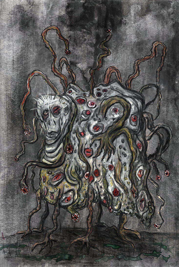 The Dunwich Horror- Wilburs twin brother by eitherangel
