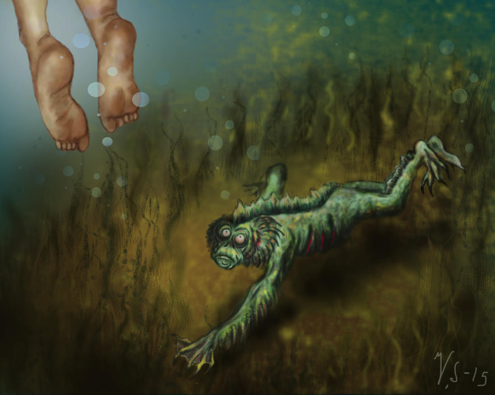 Creature of the Black Lagoon by eitherangel