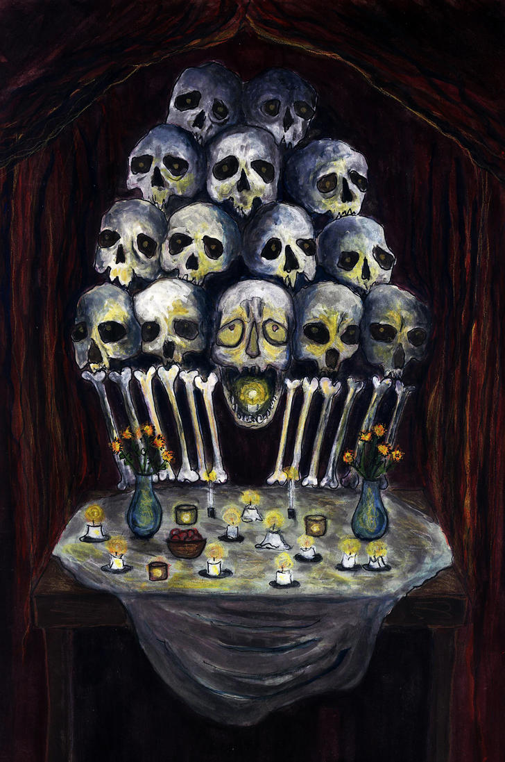 Church of Bones by eitherangel