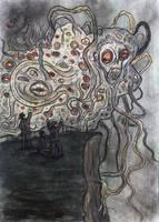Dunwich Horror-The Monster by eitherangel