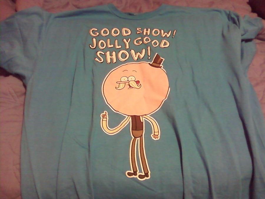 Pops Regular Show Jolly Good Show