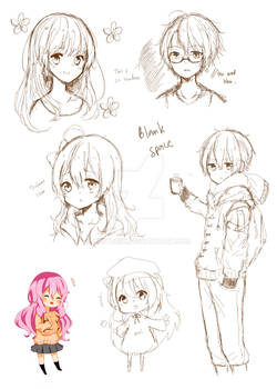 Sketch dump in one page