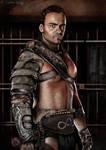 Gannicus from Spartacus - Gota