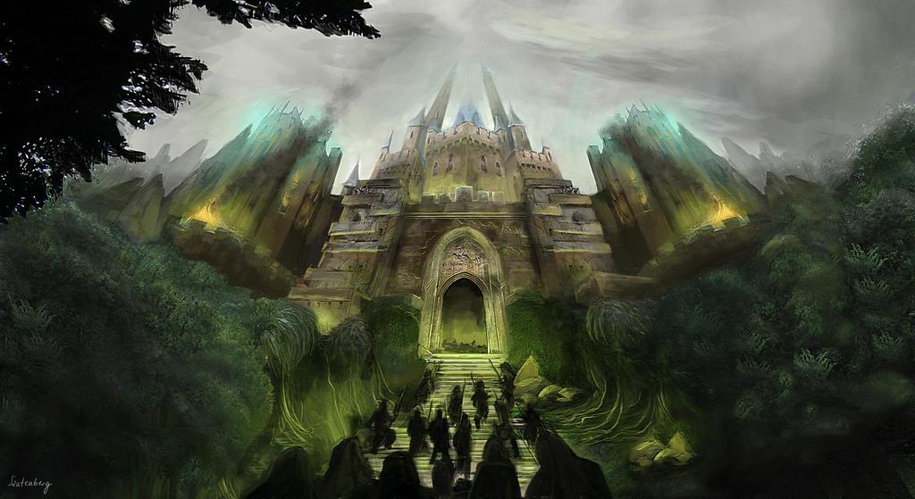 Castle by Karamissa