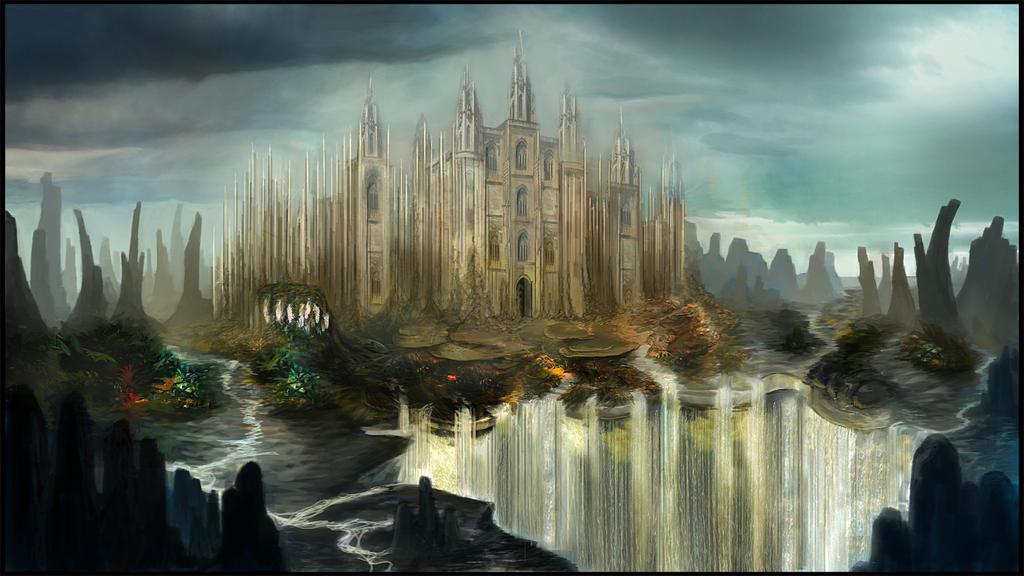 Water Castle by Karamissa