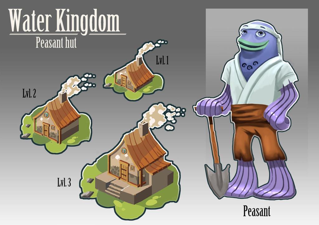 Water Kingdom - Peasant Hut by Karamissa