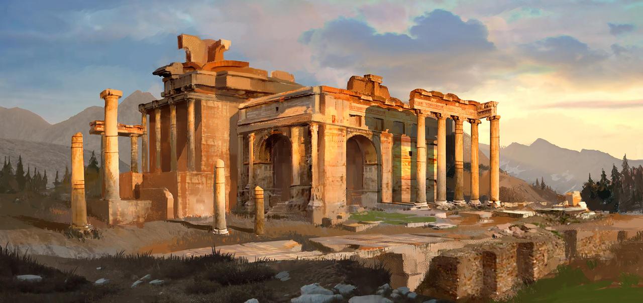 Ruins 1 by Karamissa