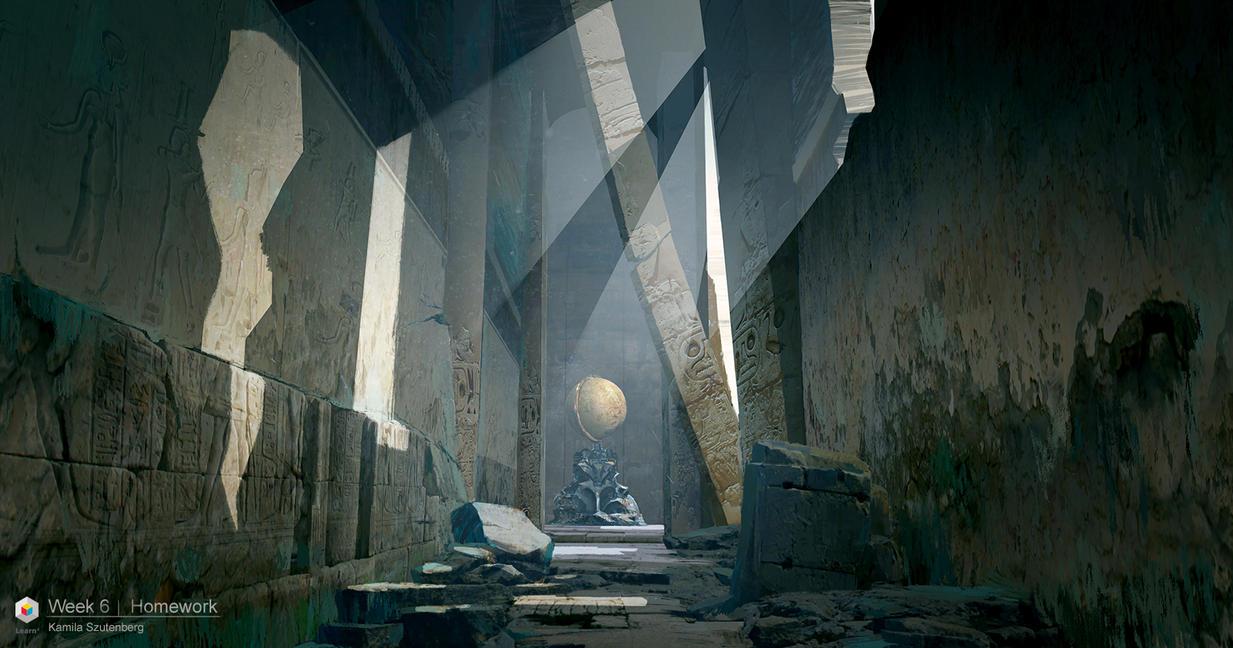Ruins 3 by Karamissa