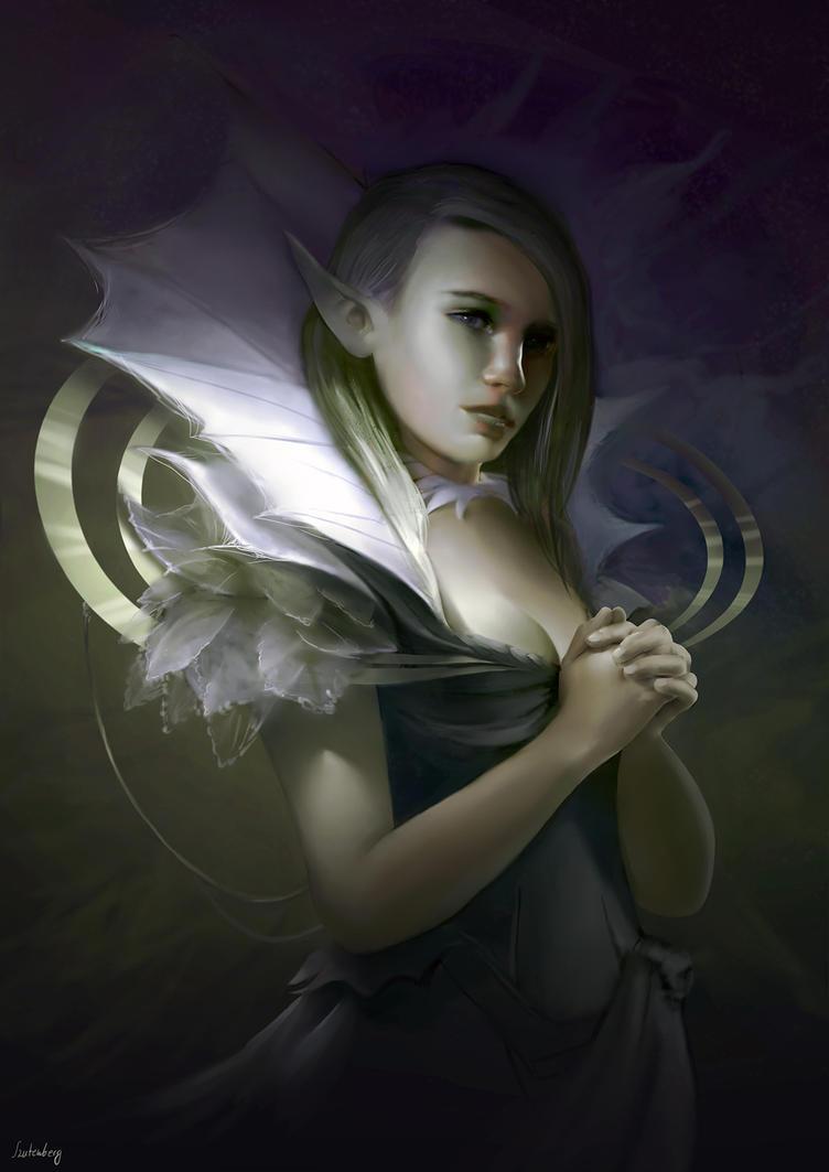 Elven queen by Karamissa