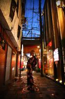 NaNa at Hozen-ji by kimOSAKA