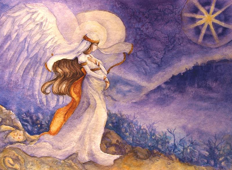 Hopeful Night of the World by yumeruby