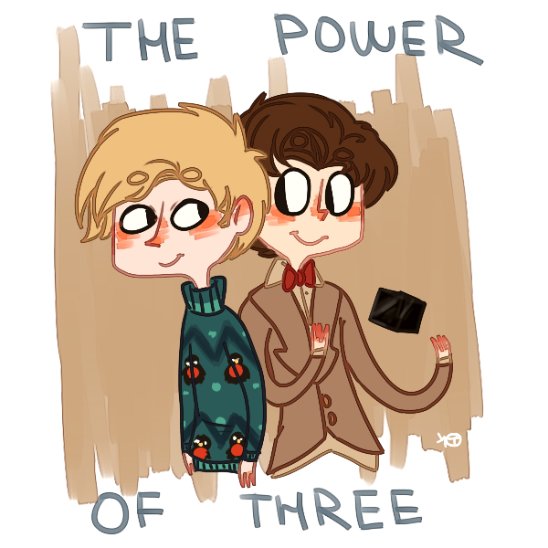 The Power Of Three by h0pelord
