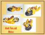 Ahadi, Taka and Mufasa