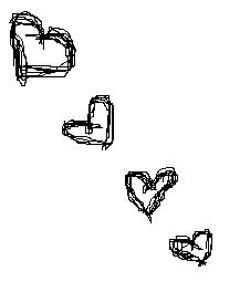 Hearts Scribbles by x-scribbles