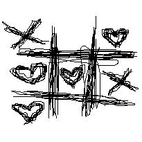 X's and O's Scribble by x-scribbles