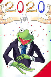 Kermit For 2020! by JLoc09