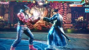 Tekken 7 -- Jin vs Kazyua