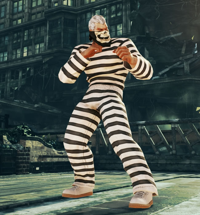 Tekken 7 Bryan Fury Prisoner By Msp10julia On Deviantart