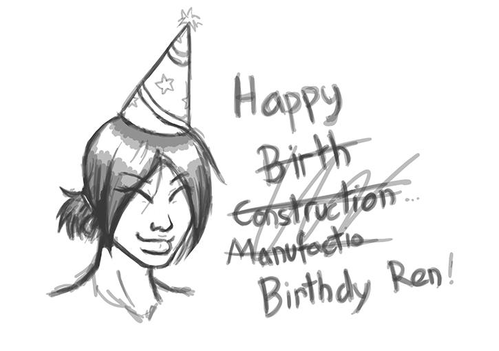 Birthday ren by Einherjar-keith