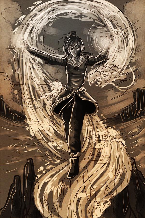 LOK: Avatar Korra by Boogol