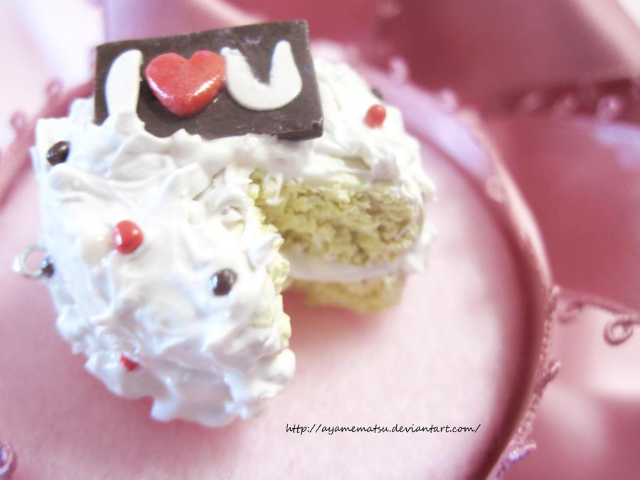 Images Of I Love U Cake : I LOVE U cake by AyameMatsu on DeviantArt