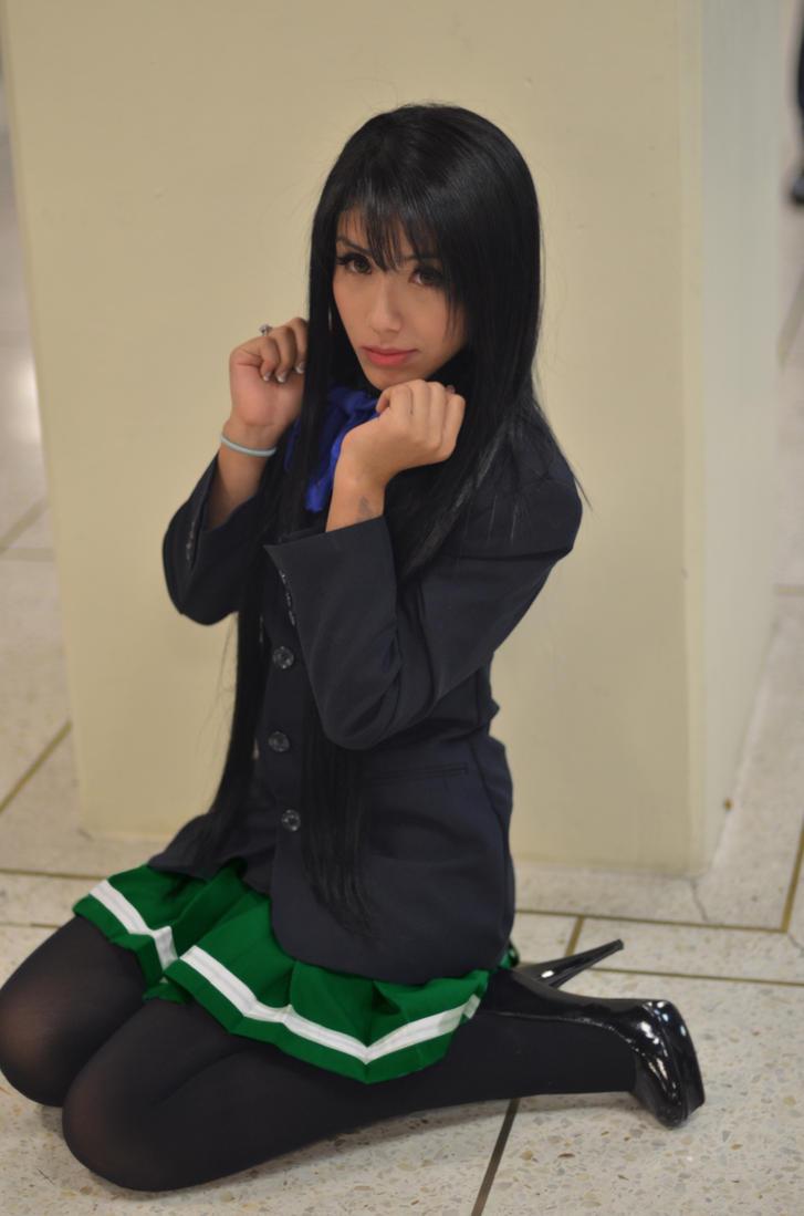 Accel world kuroyukihime cosplay
