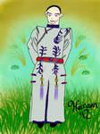Qing Dynasty Bankotsu by Hairann