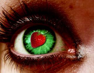 Strawberry Eye by VeraT