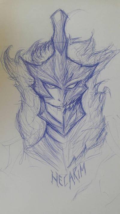 Pen Portrait: Hecarim by N-Sigma