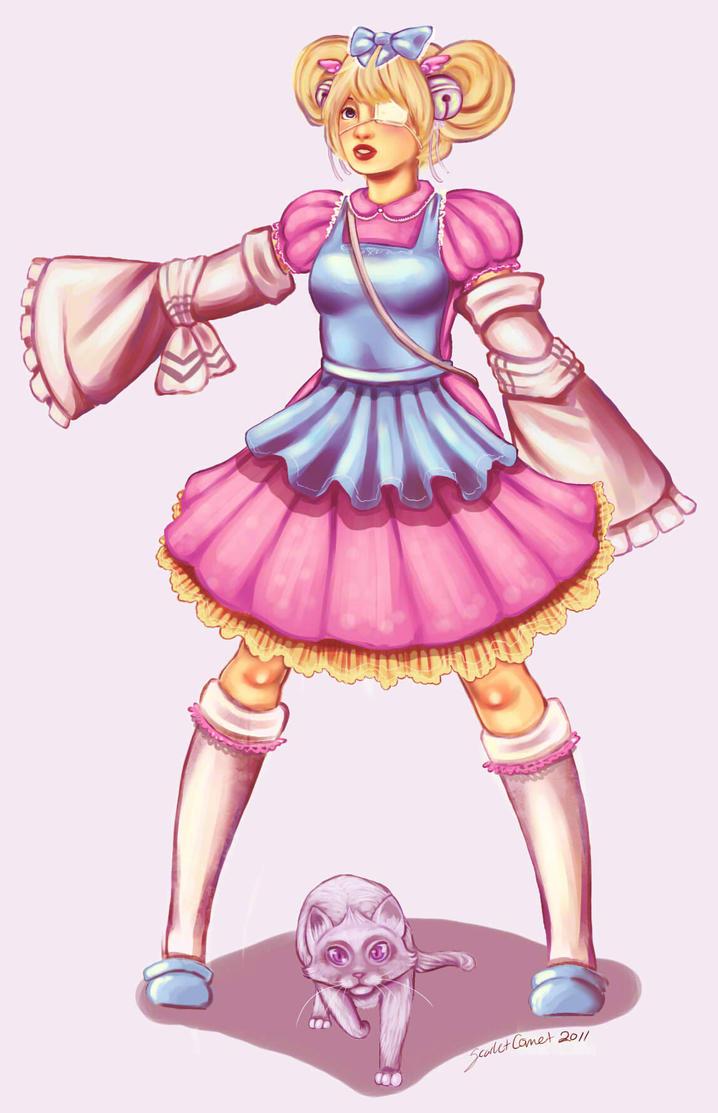 Gaiaonline: cutesu by ScarletComet