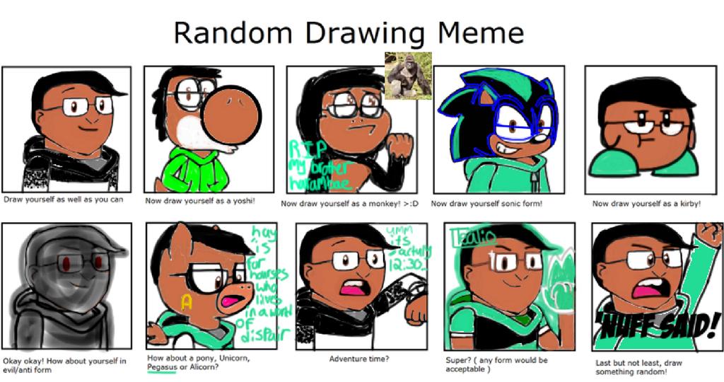Random drawing meme (APJSketch) by APJSketch on DeviantArt