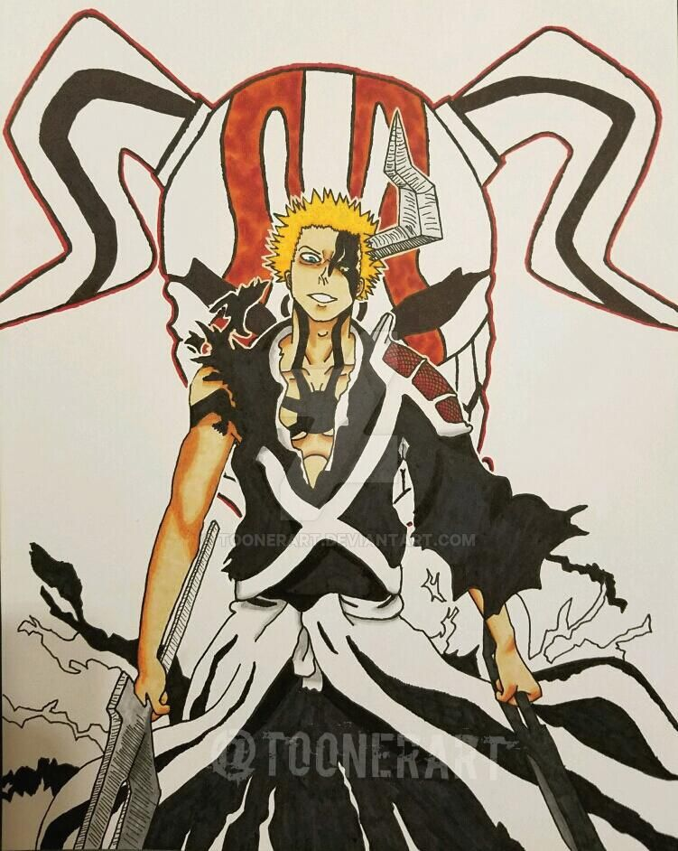 Ichigo's Final Bankai by toonerart