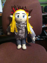 Thanduil, King of the Plush Dolls by YumiMarie