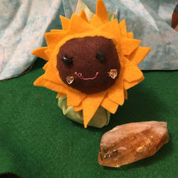 Patches, Sunflower Poppet by YumiMarie