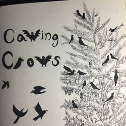 Inktober Comic: Cawing Crows by YumiMarie