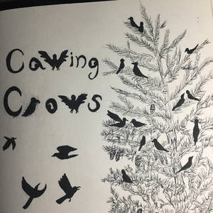 Inktober Comic: Cawing Crows